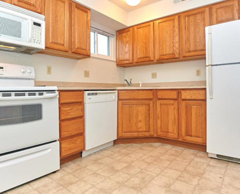 PineView Apartments Kitchen Detail