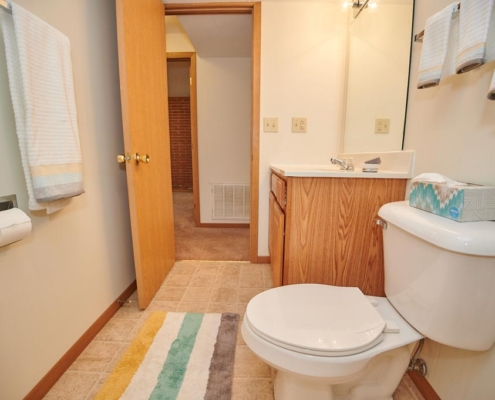 Pineview Apartments Bathroom Detail